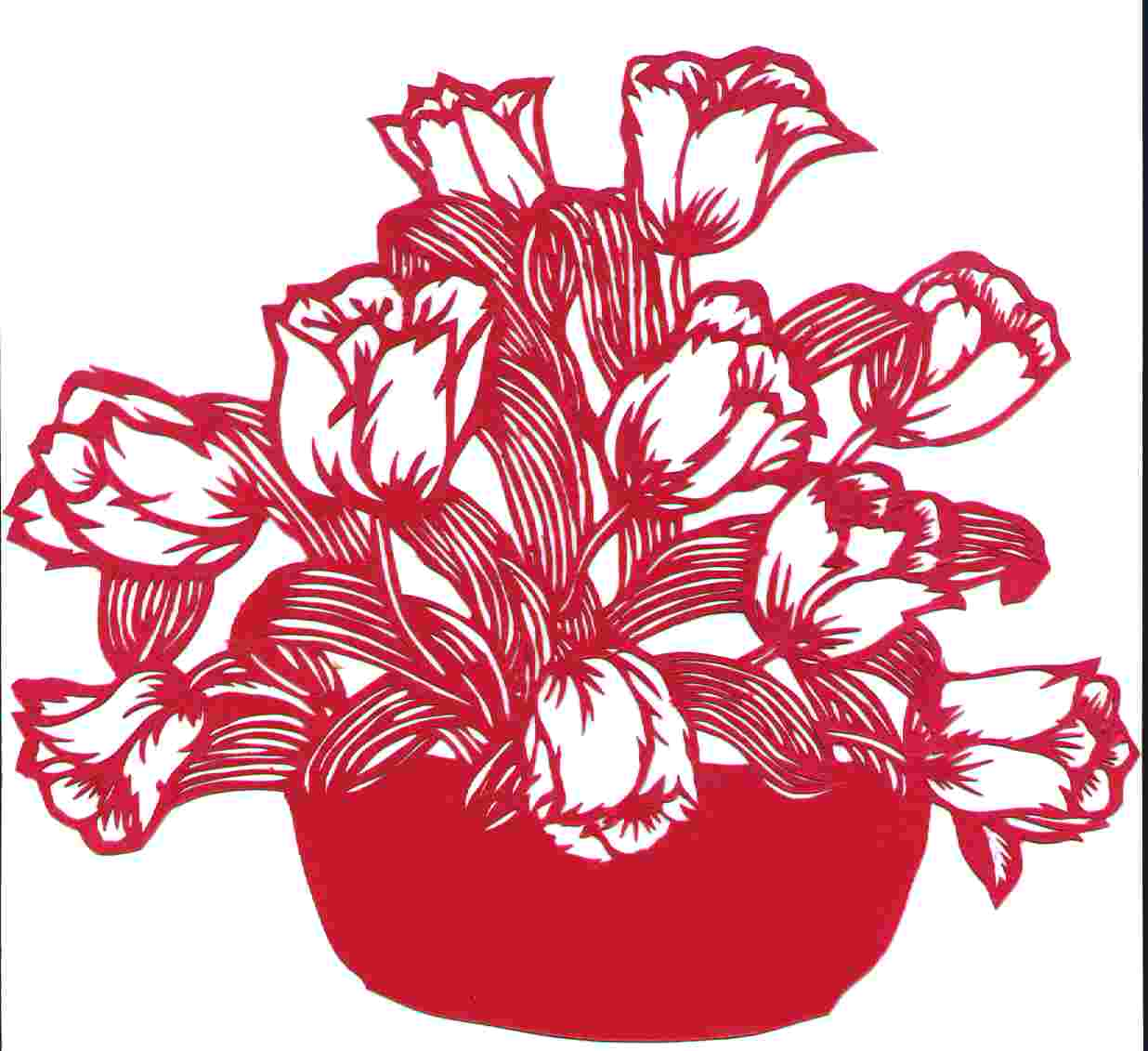 blomsten og krukken